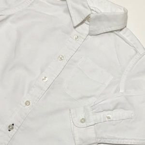 The Children's Place Shirts & Tops - Like New Long Sleeve White ButtonUp Dress Shirt 2T